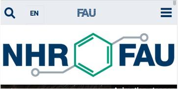 Screenshot der Website in kleiner AUflösung mit eingeschalteten eigenen Logo
